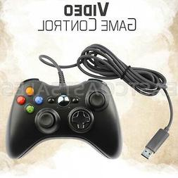 For Microsoft Xbox 360 & Windows PC USB Wired Video Game Con