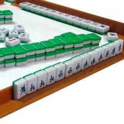 Mini 144 Mahjong Tile Set Travel Board Game Chinese Traditio