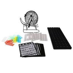 Mini Bingo Cage Game Set Machine Lottery for Family Party Fu