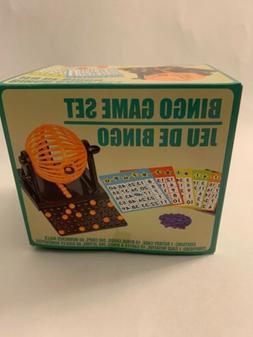 🔥 Mini Bingo Machine Cage Game Set Kit 60 balls 10 number