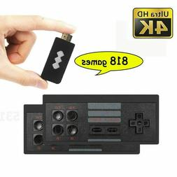 WIRELESS RETRO GAME GAME HDMI STICK CONSOLE 818 GAMES