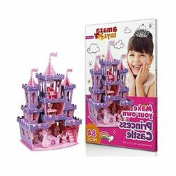 Mint Girls Toys Princess Games - 3D Puzzle Castle Gifts For