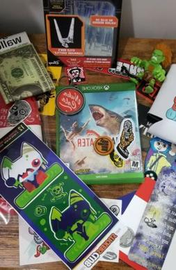 Mixed Lot / Xbox One / Maneater / Stickers / Goodies