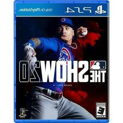 MLB The Show 20 for PS4 - PS4 exclusive - ESRB Rated E