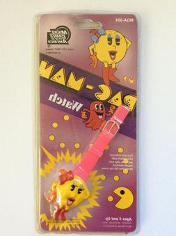 Ms Pac-Man Watch Namco Game Rare Vintage 1982