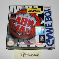 NBA Jam BOX & MANUAL ONLY  - Game Boy