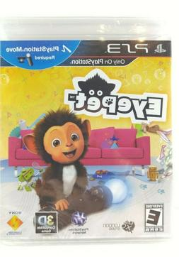NEW & SEALED EyePet , Eye Pet, Sony PS3 Move Game for Kids