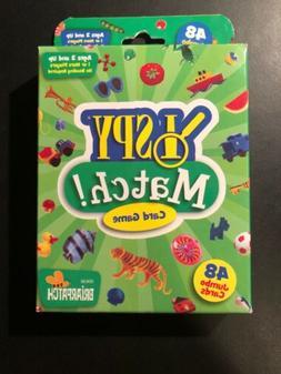 NEW & SEALED * I SPY MATCH!  48 JUMBO CARD GAME Childrens Ma