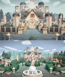 New Horizons - 🏰Grandiose Noble Castle Garden Home ALL 45