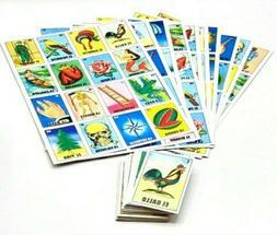 NEW JUMBO Classic Mexican Bingo 10 Boards/ loteria Mexicana