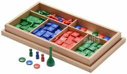 New Montessori Materials Stamp Game Set Math Number Early Le