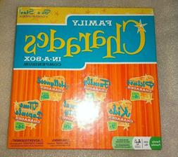 NEW SEALED FAMILY CHARADES IN A BOX COMPENDIUM 6 GAMES IN ON