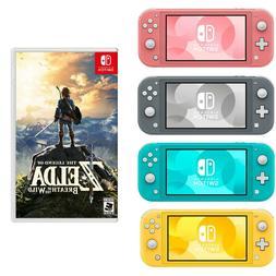 NEW Nintendo Switch Lite + FREE NEW Zelda Game  PICK Turquoi