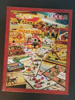 New The Games Of Your Life 1000 Piece Puzzle MB Vintage 1995