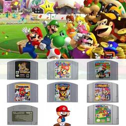 Mario Kart Super Mario 64 Party 1 2 3 Video Game Cartridge N