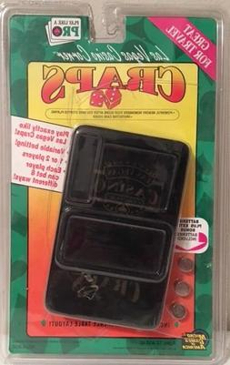 NIB>>Electronic Craps Game with Protective Case and Batterie