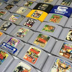 Nintendo 64 N64 Video Game Cartridges *Cosmetic Wear* *Authe