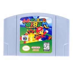 For Nintendo 64 Super Mario 64  Video Game Cartridge US Vers