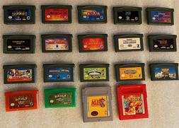 NINTENDO DS/3DS/GBA/GAMEBOY GAMES!! Pick & Choose Video Game