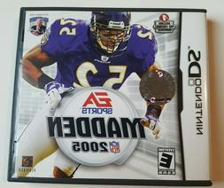 Nintendo DS Game Madden 2005 Complete Very Good Condition