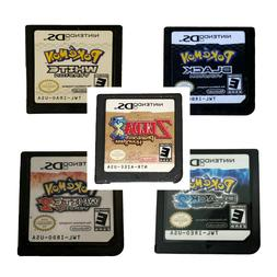 Pokemon Black and White Black 2 White 2 Heartgold Soulsilver