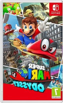 Nintendo Super Mario Odyssey - Nintendo Switch - Brand New -