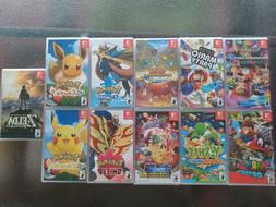 Nintendo Switch Games *BRAND NEW SEALED* Mario, Zelda, Yoshi