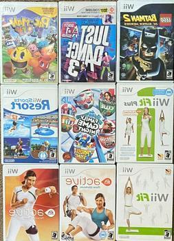 Nintendo Wii Games  BOGO Pick & Choose from 7.49!