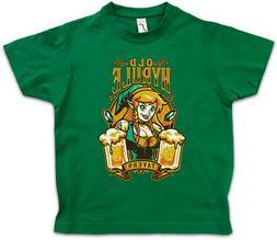 OLD HYRULE TAVERN I Kids Boys T-Shirt Link Legend Game Retro