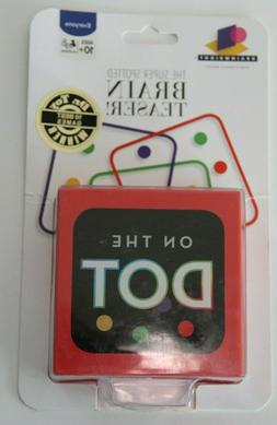 On The Dot Game~New SEALED Real Brain Teaser Small for Trave