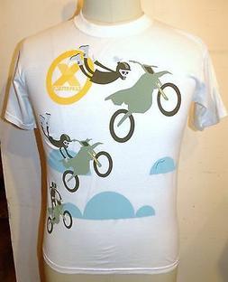 Original X Games Apparel White 100% Cotton Graphic T-Shirt B
