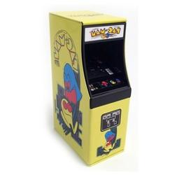 Pac-Man Game Video Arcade Candy in Shaped Embossed Metal Tin