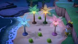Palm Tree DIY Recipe + Coconuts! Animal Crossing Furniture C
