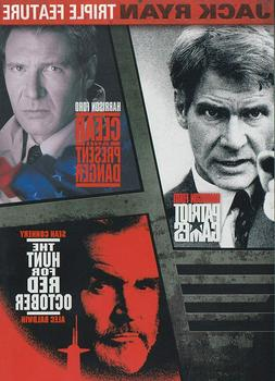 Patriot Games, Hunt for Red October Triple Feature Brand New