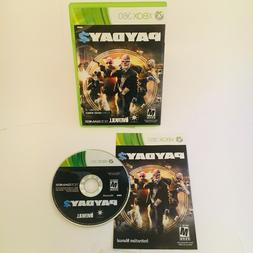 Payday 2 Xbox 360 Complete NM Xbox 360, Video Games