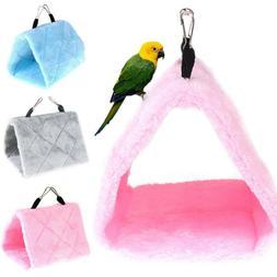 Pet Bird Parrot Parakeet Budgie Hammock Cage Hut Tent Bed Ha