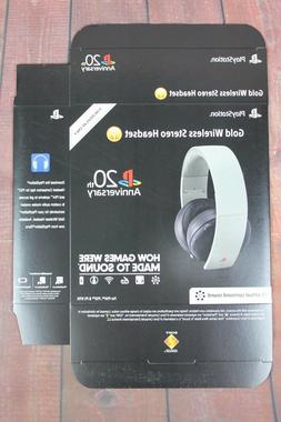 PlayStation 4 20th Anniversary Headset For Display Only Box