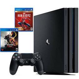 PlayStation 4 Pro 1TB Console Black + Marvel's Spider-Man: G
