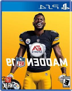 PLAYSTATION 4 PS4 VIDEO GAME NFL FOOTBALL 2019 BRAND NEW AND