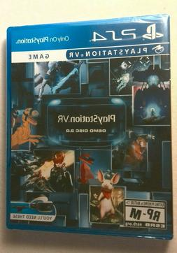 Playstation 4 VR Demo Disc 2.0 Sealed, PS4, New