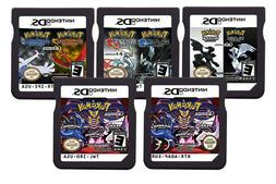 Pokemon Black 2 and White 2 US 2 in 1 Games 3DS 2DS DS Video