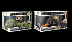 Funko Pop Rides Game Of Thrones Jon Snow & Rhaegal, Daenerys