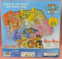 POP UP Board Game  ~ PAW PATROL  Age 4-10, Boys Girls  2-4 P