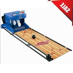 Portable Bowling Alley Set Bowl-A-Rama Indoor Outdoor Arcade