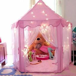Princess Castle Tulle Play House Indoor Outdoor Kids Game Pl