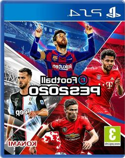 Pro Evolution Soccer PES 2020 PS4 Brand New Sealed PlayStati