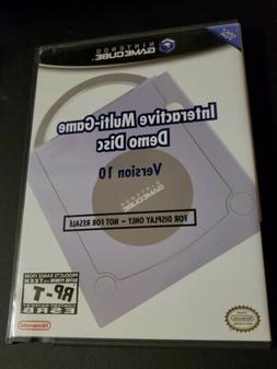 Promo-only Nintendo GameCube Demo Disc Version 15 2004 Retai