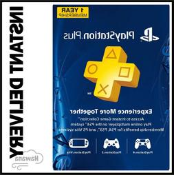 Sony PS Plus 12 Month Subscription Card Live