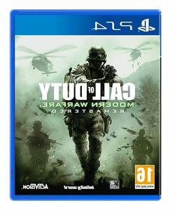 PS4 Call of Duty Modern Warfare Remastered - Playstation 4 P