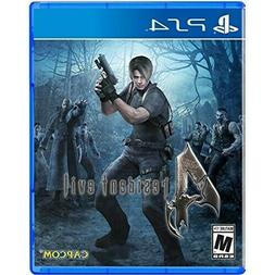 PLAYSTATION 4 PS4 GAME RESIDENT EVIL 4 HD BRAND NEW AND SEAL